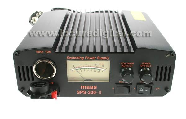 Fuente de alimentación ALINCO DM - 330MVE Fuente de alimentación conmutado 30 Amperios. incluye instrumentación para poder ver el voltaje y el consumo y las funciones son regulables.