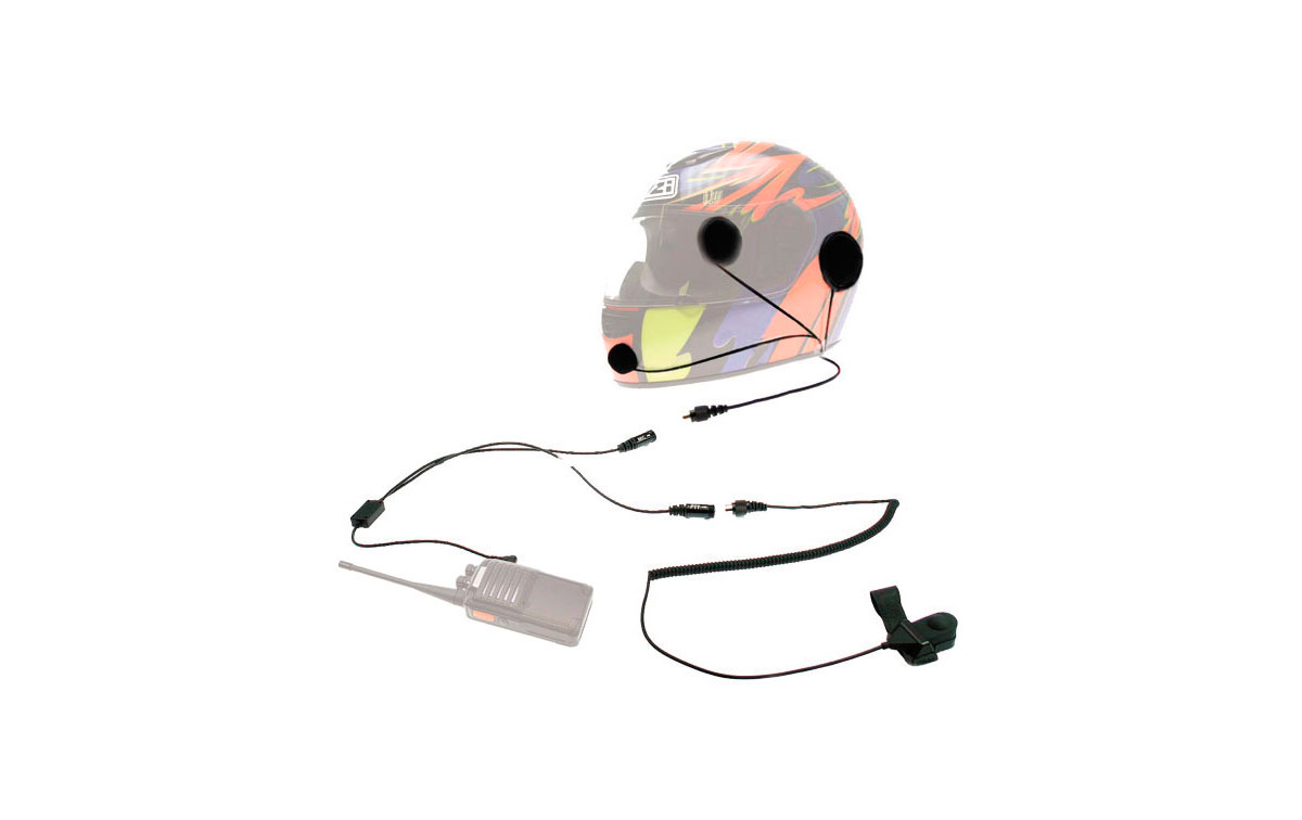 KIM55Y2 NAUZER KIT MOTO CASCO INTEGRAL PARA WALKIES YAESU