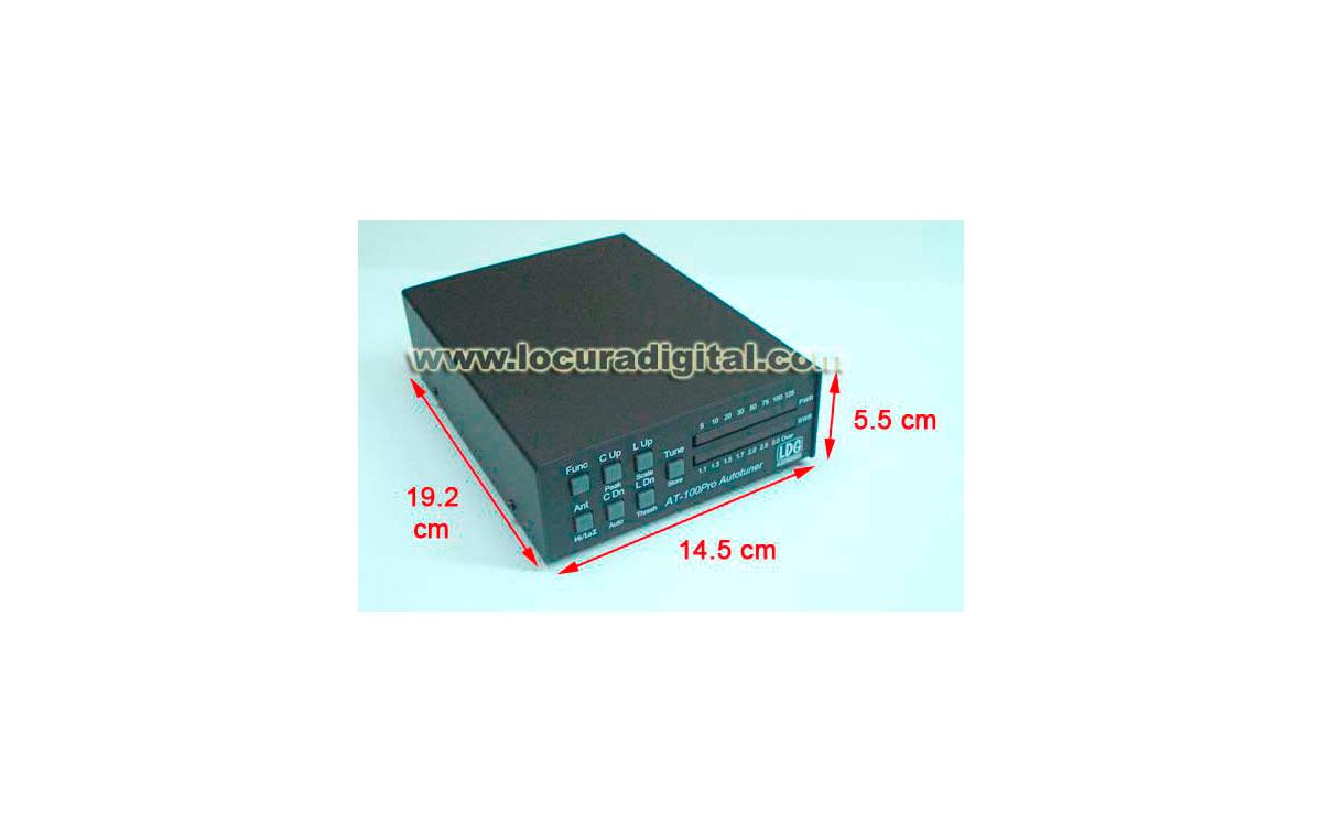 AT100 PRO II Acoplador de Antena automático de 1.8 a 54 Mhz con memorias.