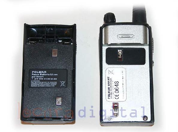 BATKB40 POLMAR Batería para POLMAR GALAXY LITIO 7,2 volts. 1,2 Amp.
