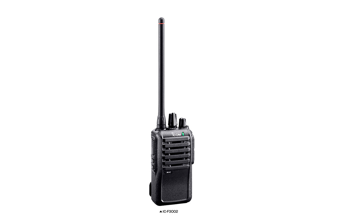 ICF3002V7 ICOM Walkie talkie profesional VHF 16 canales