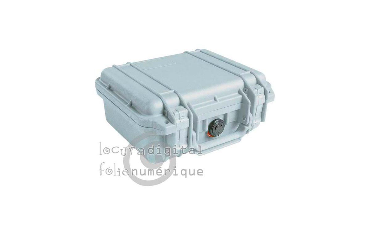 1400-000-180 Maleta de protección Plata, con espuma