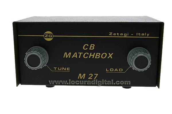 ZETAGI M27MATCHBOX Antenna Matcher. Frequency 26 to 28 Mhz.