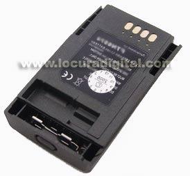 PAB4351 MOTOROLA Batería ORIGINAL Litio 1.850 mAh para TETRA MTP-850