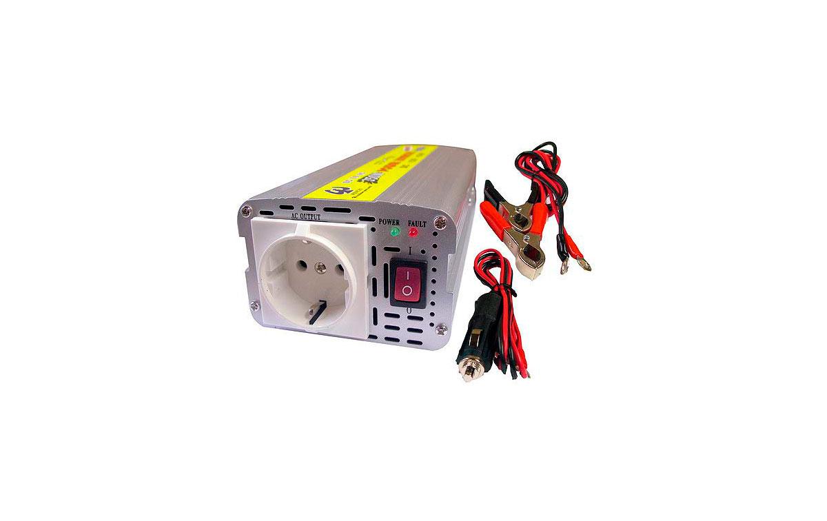 WHS300 24. INVERSOR 24 V.  A  220 V. Potencia 300 WAT.