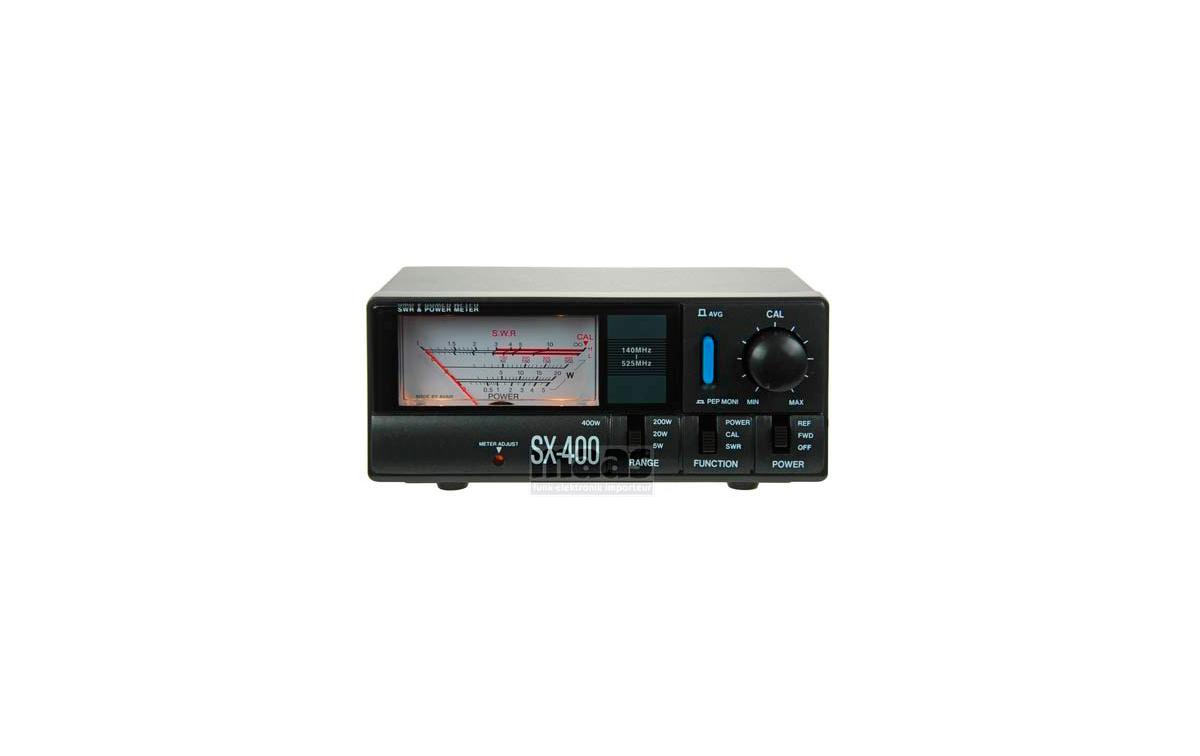 SX 400 Medidor R.O.E. / Watimetro 5 / 20 / 200  y 400 w. 140-525 MHZ