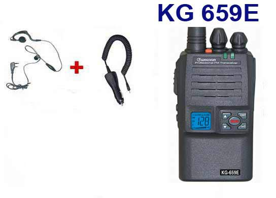 WOUXUN KG659 FREE PROFESSIONAL WALKIE KIT 1