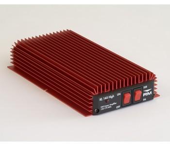 KL145H. RM APLIFICADOR DE VHF  100 WATIOS 12 V. FRECUENCIAS 150-170 MHZ