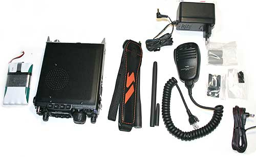 YAESU FT-817ND Multi-mode portable transceiver HF / VHF / UHF
