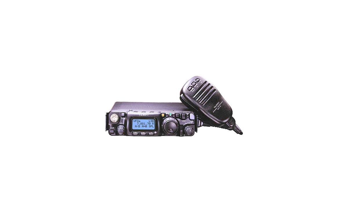 YAESU FT817ND Transceptor portátil multibanda HF/VHF/UHF