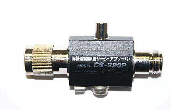 CS290P COMET protector coaxial N macho/hembra