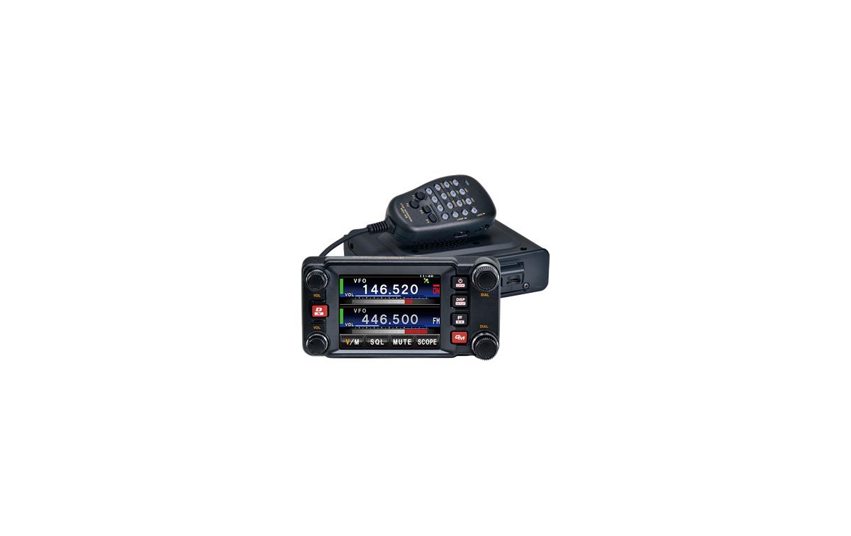 FTM400DE YAESU Transceptor móvil Doble banda VHF-UHF 144/430 Mhz. APRS