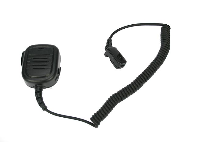 Nauzer MIA120-TPH700. High quality microphone-loudspeaker with large PTT button. For MATRA EADS JUPITER TPH-700