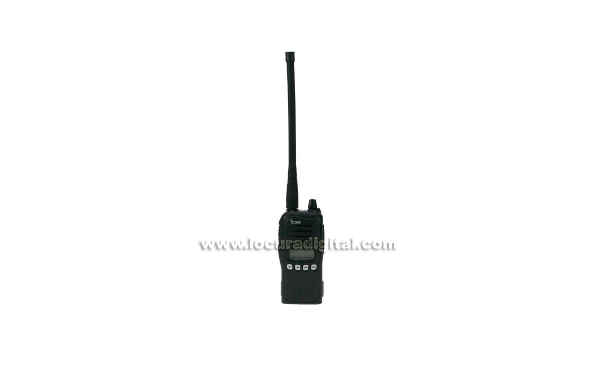 IC-A15S Walkie ICOM aviación sin teclado VHF 118 -136,975 Mhz