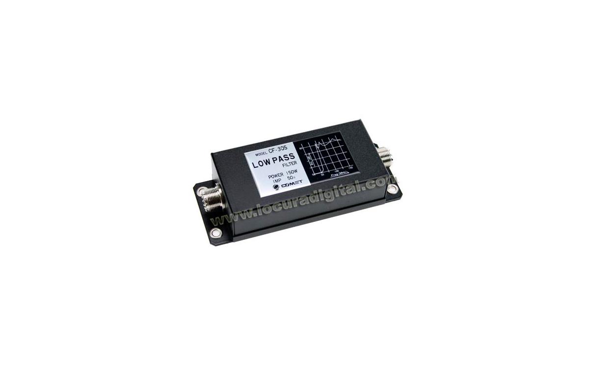 CF30S FILTRO 32MHZ 150 W Frecuencias de 1,9 a 30 MHz.