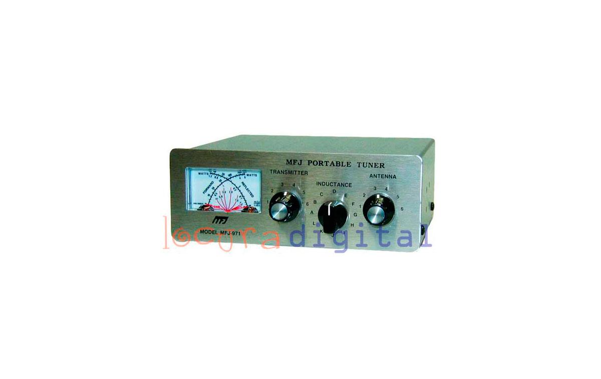 MFJ971 ACOPLADOR  DE ANTENAS  HF 1,8- 30 Mhz  200 WATIOS