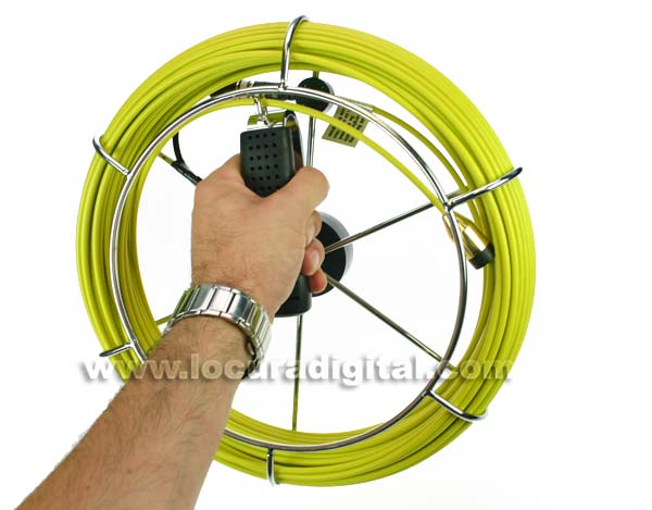 Barrister MPR040 fiber cable reel 40 meters MP8080-MP9090 systems