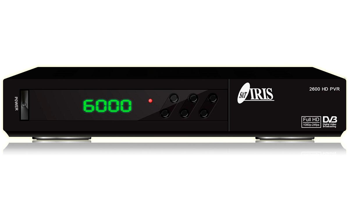 IRIS2600HD IRIS Receptor Satélite con WIFI