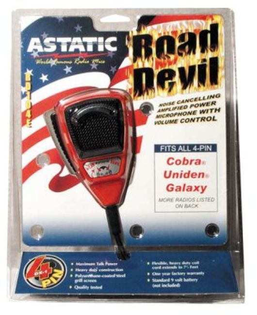 ATRD104E4B Astatic U.S. Road Devil Special Edition