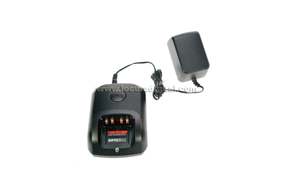 WPLN-4234 Cargador motorola  unitario IMPRES para walkies DP-3400 / DP-3401 / DP-3600 / DP-3601