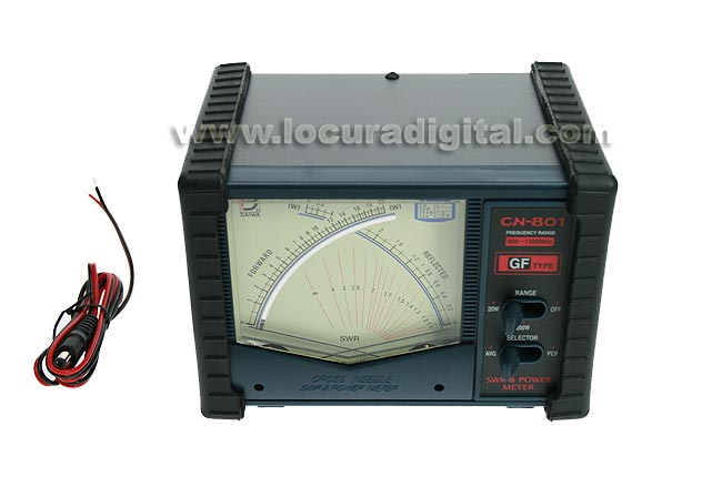 DAIWA CN801GF POWER SWR meter and 900 to 1300 Mhz.