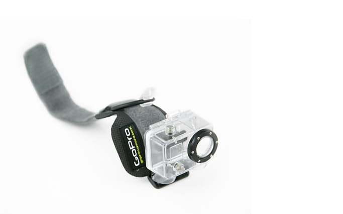 AWHWH001 WIDE WRIST HERO HOUSING GOPRO Muñequera + carcasa