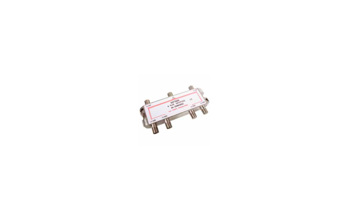 MP7626 Distribuidor standard 6 vias 4-2400MHz paso DC