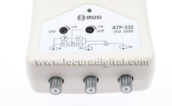 ATP-332 Amplificador IKUSI