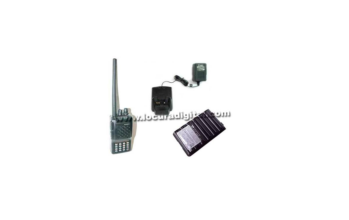 Walkie monobanda VHF con teclado YAESU VX-150 + CARGADOR RAPIDO VAC-10   ---- DESCATALOGADO POR YAES