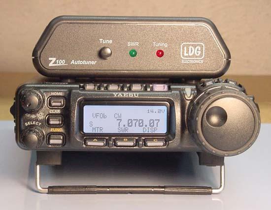 Z100 Acoplador de Antena