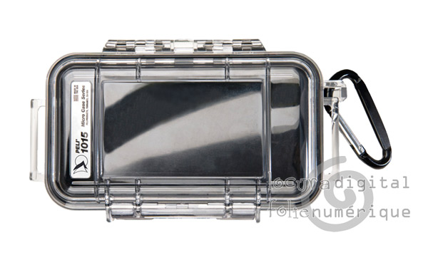 1015-005-100 Micro-Clear Protective Case - Black