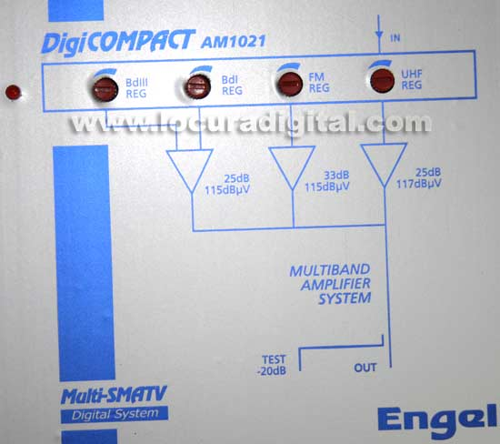 AMPLIFICADOR ENGEL AM-1021