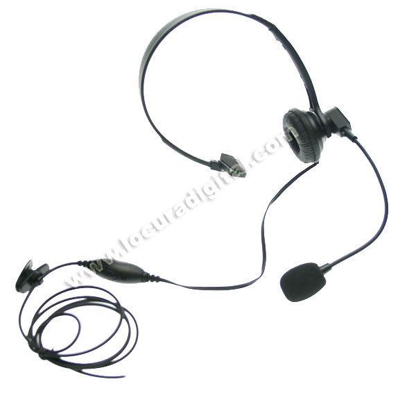 Nauzer HEL770-S. High quality headset with PTT and VOX system. For MIDLAND handhelds
