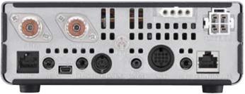 ic7100 icom transceptor movil multibanda, pantalla táctil. hf 6m 4m vhf uhf