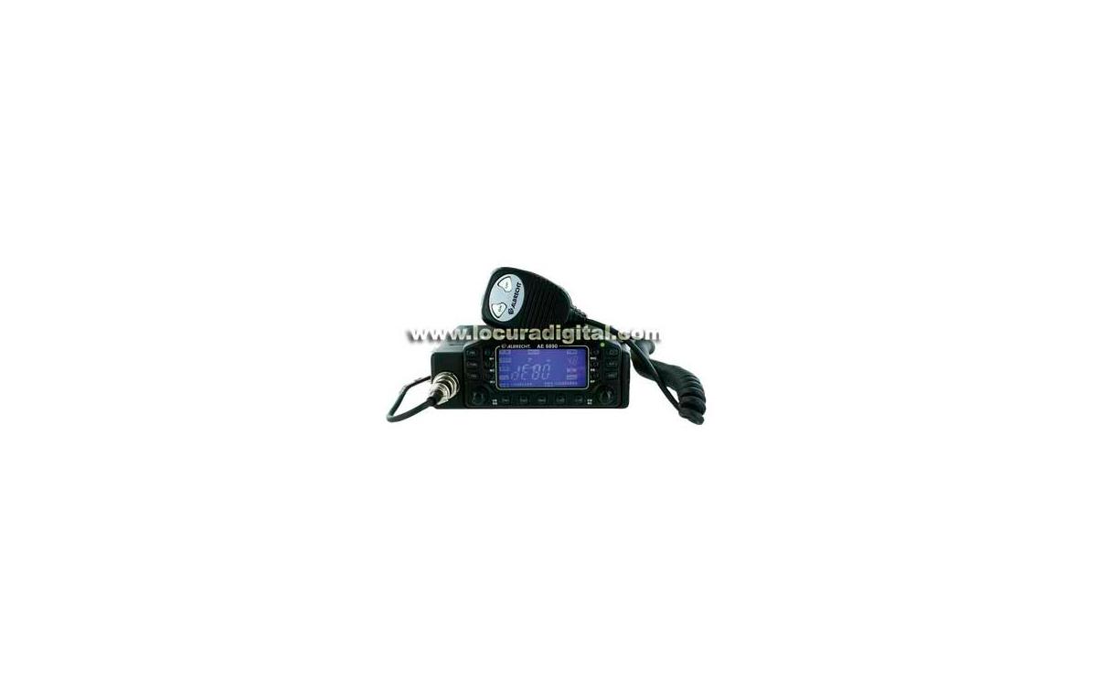 ALBRECHT AE-6890 Emisora CB 27 Mhz. AM/FM. Emisora de altas prestaciones