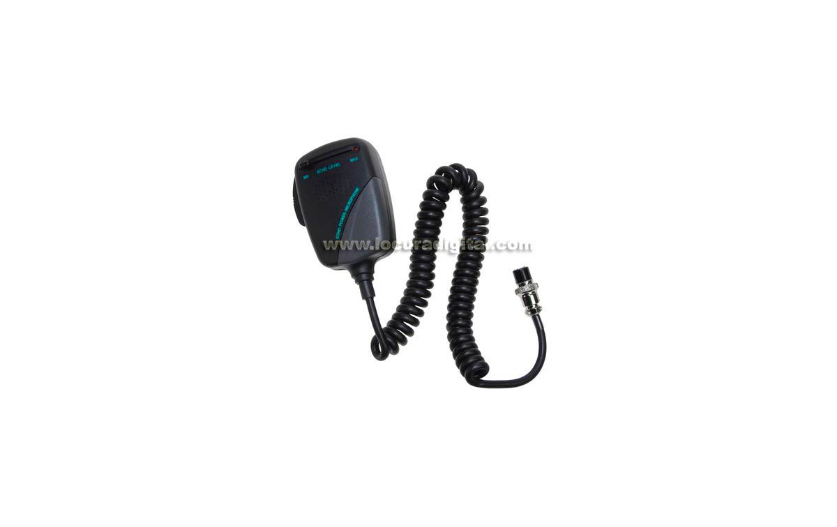 NM-452A6  Micrófono emisora CB con ECHO regulable para Emisoras !! VALIDO PARA PRESIDENT, ALAN48, AL