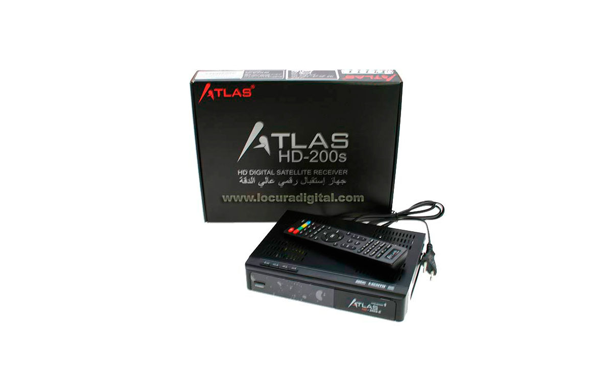 Atlas HD-200s MainSoftware B1,28 12/04/2017