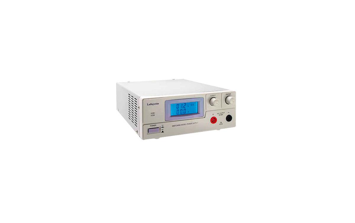 ALP20A LAFAYETTE Fuente Alimentación conmutada regulable 0 - 30 Volts. 0 -20 Amp