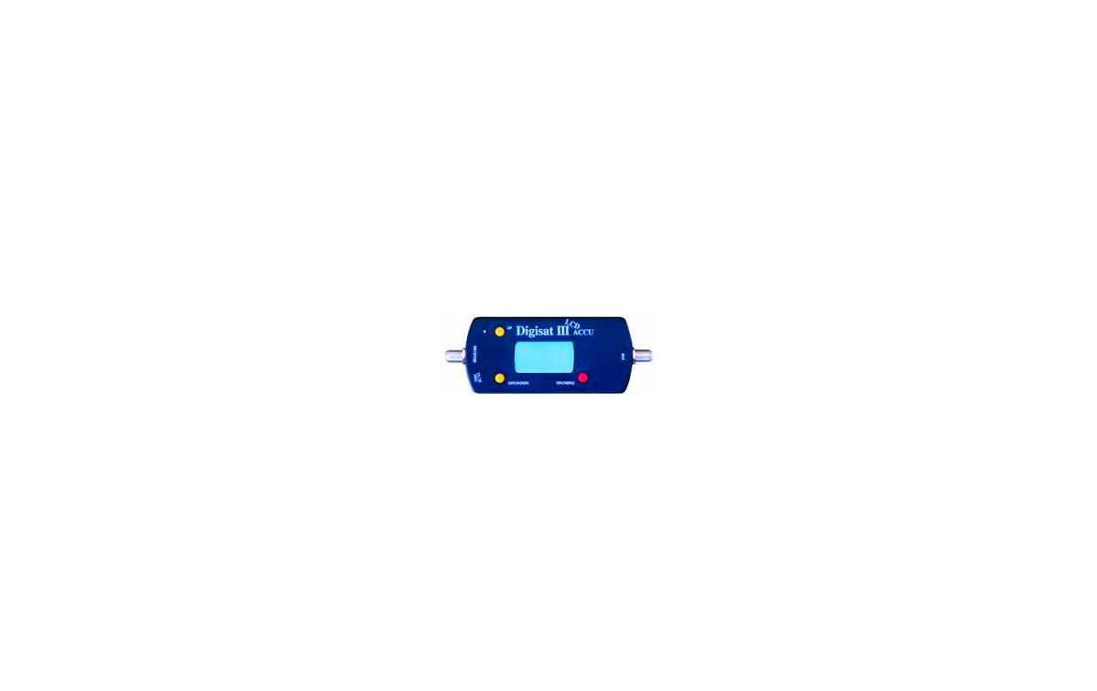 DIGISAT-LCD con pantalla LCD, Medidor-Localizador de Satélites
