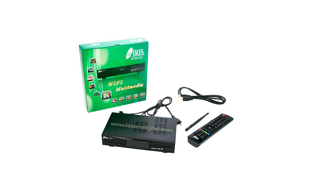 IRIS9700HD RECEPTOR SATELITE DIGITAL IRIS9700HD   WIFI.