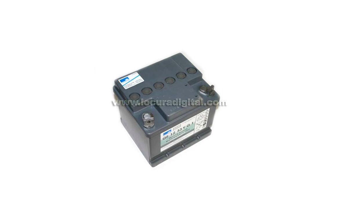 HEYCAR EXIDE TECHNOLOGIES HGC5-12 38 G6 - Batería de plomo GEL 12V - 38 amperios