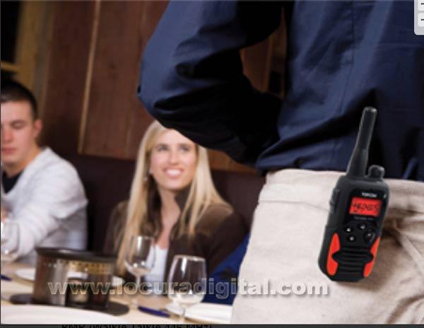 TWINTALKER-9500 TOPCOM pareja de walkies con maleta uso libre.