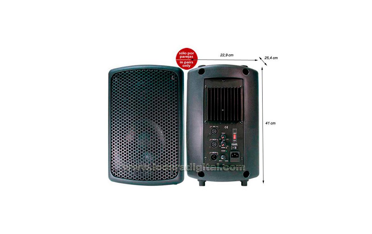 BARRISTER BAMP-08  Altavoz con amplificador integrado 100 W.