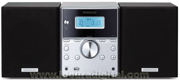 KENWOOD M-313. Compact Hifi System with USB Connection