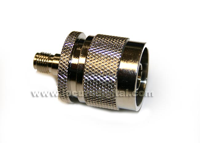CON3905 Adapter SMA to N MALE FEMALE REVERSE standard
