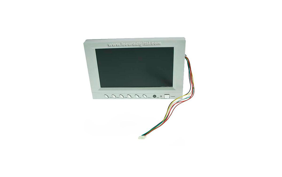 MPP007 BARRISTER monitor color recambio sistema inspección MP-8080