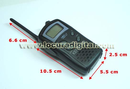 Kenwood UBZLJ8 Walkie Talkies uso libre