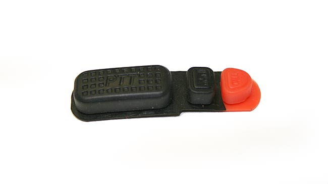 LUTHOR RECTL55-PTT SPARE PART. PTT'S RUBBER COVER FOR LUTHOR TL-55 HANDHELD