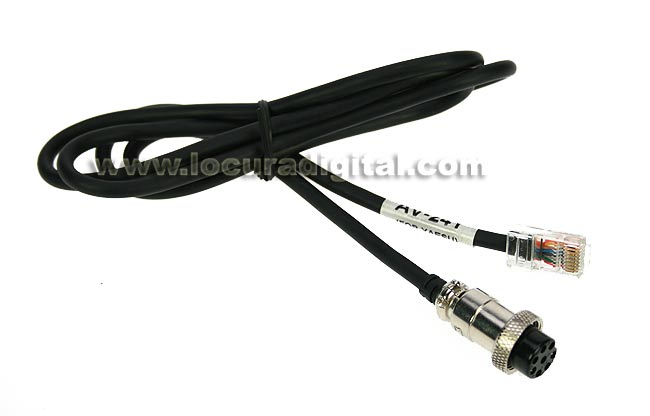 LAFAYETTE AV24Y YAESU cable for AV-508 and AV-908.