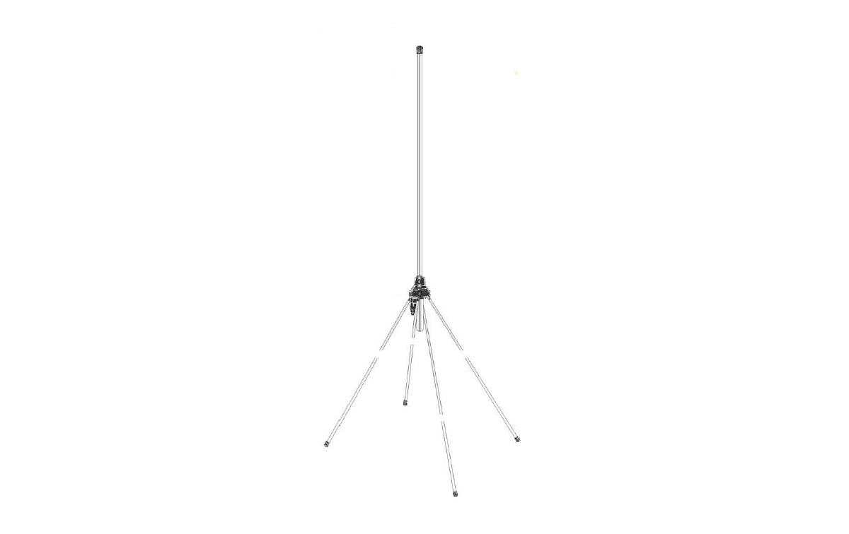 GPAIR SIGMA Antena Aviación para base 1/4 , 118 - 136 Mhz. Longitud: 1 metro